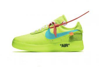 Virgil Abloh & Nike offre un coloris printanier à la fameuse «Volt»
