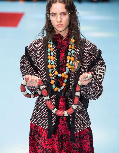 Gucci débarque à la Fashion Week de Paris