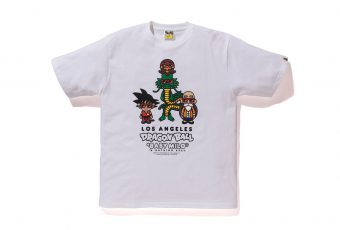 BAPE lance une collection spéciale « Dragon Ball » au shop de Los Angeles !