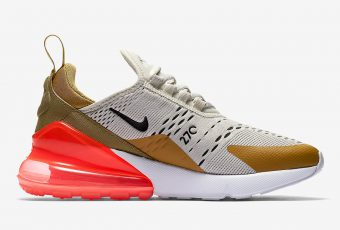 « Flight Gold », la nouvelle touche dorée de la Air Max 270 !