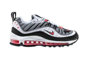 Nike Air Max 98 « Solar Red » : indémodable depuis les 90's