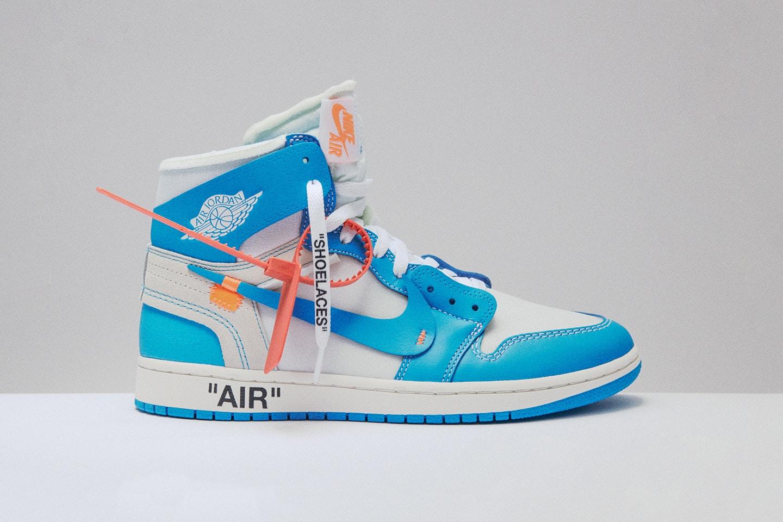 "Virgil Abloh x Air Jordan 1 ""Powder Blue"" tombera sur SNKRS"