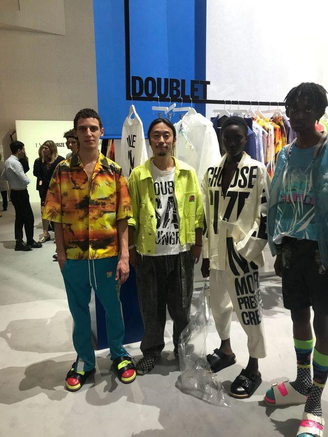 Qui est doublet, la marque japonaise qui vient de remporter le prix LVMH ?
