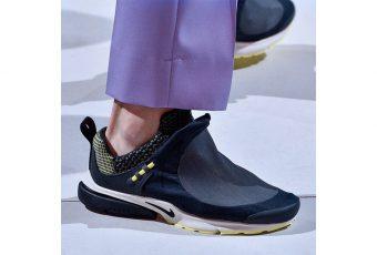 La nouvelle paire Comme des Garçons et Nike fait son show lors de la Fashion Week !
