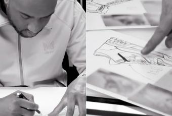 Virgil Abloh nous dévoile les premiers designs de sa future sneakers Louis Vuitton !