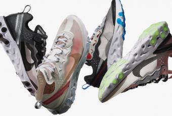 Découvrez les visuels de la Nike Element React 87 !