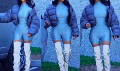 Kim Kardashian se balade dans les rues de Los Angeles…