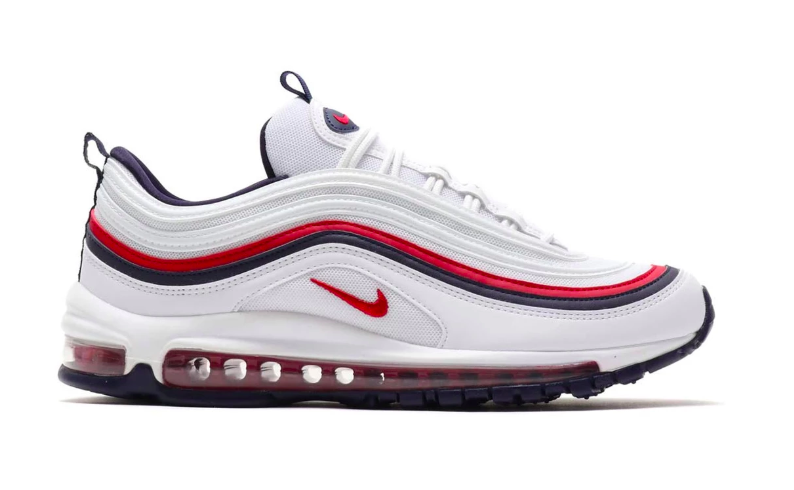 nike air max 97 blanc et rouge