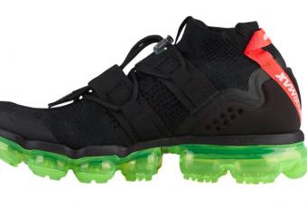 Découvrez la Nike Air Vapormax Flyknit Utility «Black Volt» !