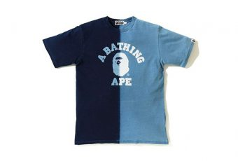 BAPE dit let's go à sa collection été 2018, Indigo
