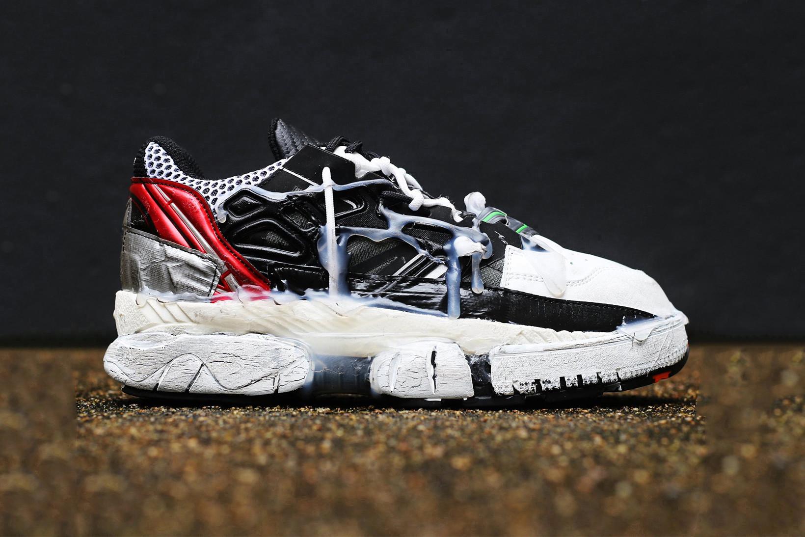 """Les Margiela """"Fusion Sneakers"""" sont plus déstructurées que jamais"""