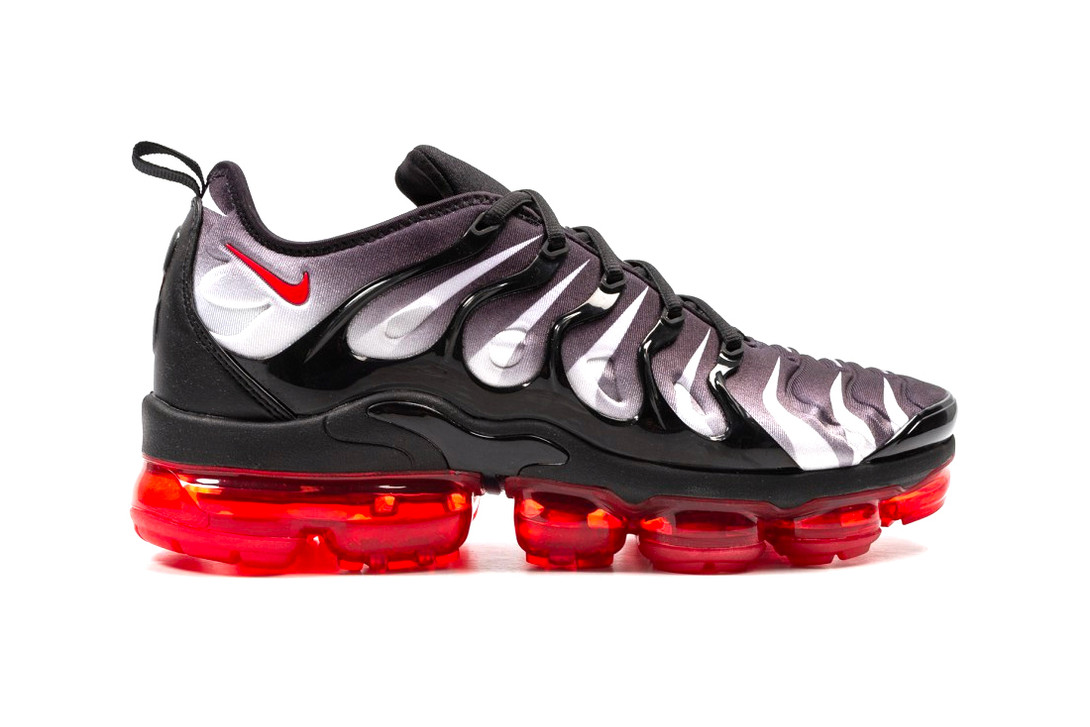 "Nike Air VaporMax Plus ""Red Shark Tooth"" : on y laisserait bien un pied"