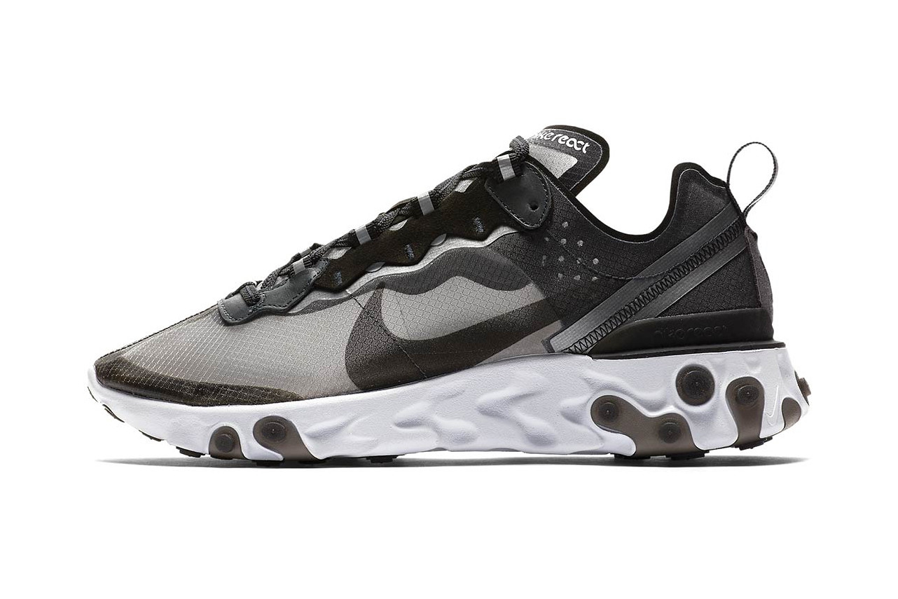 Nike libère une React Element 87 Anthracite