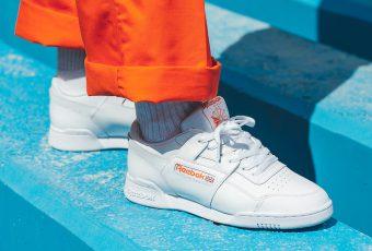 La Reebok Workout Plus MU est de retour en «White/Bright Lava Orange»