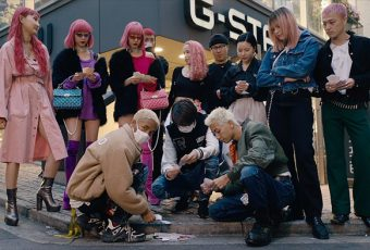 Jaden Smith joue aux cartes dans les rues de Tokyo dans son nouveau clip « GHOST » !