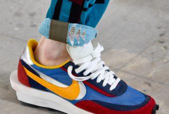 Sacai x Nike: la sneakers qui a fait beaucoup de bruit lors de la fashion week !