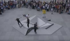 Volcom modernise et modélise le skate place de la République…
