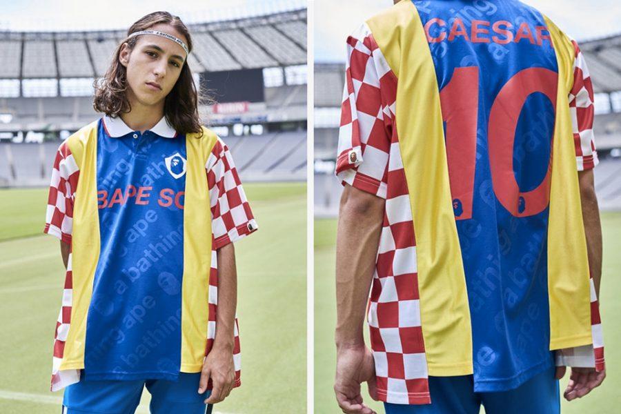 BAPE sort une collection «Football» idéale pour la finale de la coupe du monde !