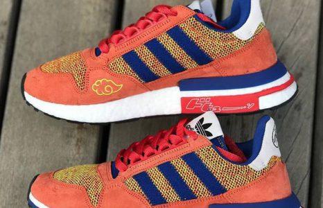 Regardez de plus près la paire Dragon Ball Z x Adidas !