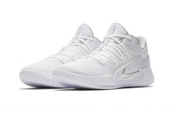 Premiers visuels de la paire Nike Hyperdunk X Low en coloris «Pure Platinum» !