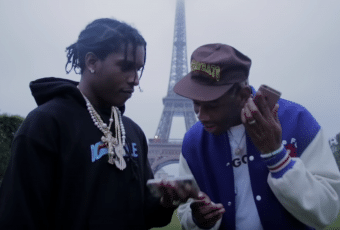Tyler the Creator et A$ap Rocky clippent à Paris, avec Jaden Smith en guest