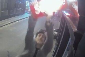 A Londres, la chasse à l'homme de Supreme