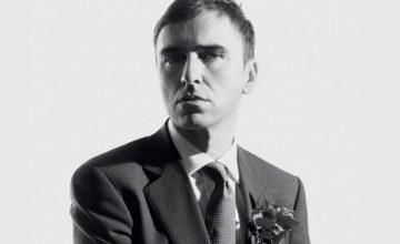 Raf Simons, un minimaliste qui fait beaucoup de bruit