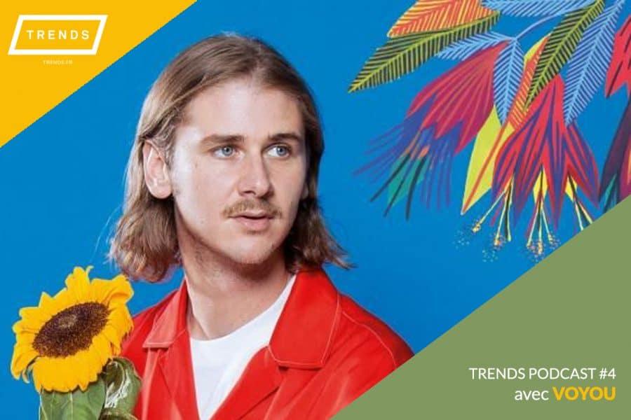 Interview de Voyou pour TRENDS : «Je n'écris jamais dans le but de plaire, ou de ne pas plaire»