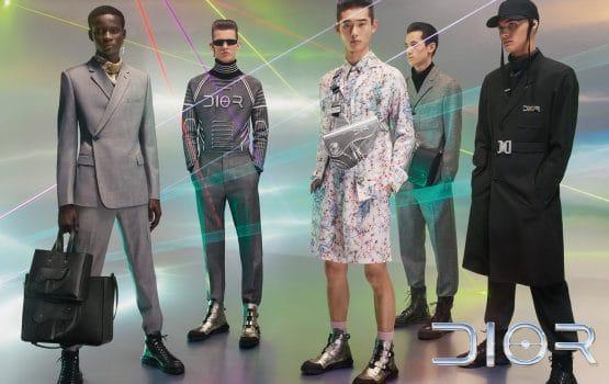 Des lasers et du futurisme pour la nouvelle campagne signée Dior Homme