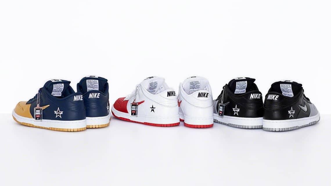 Supreme X Nike SB : Toutes les informations avant la sortie