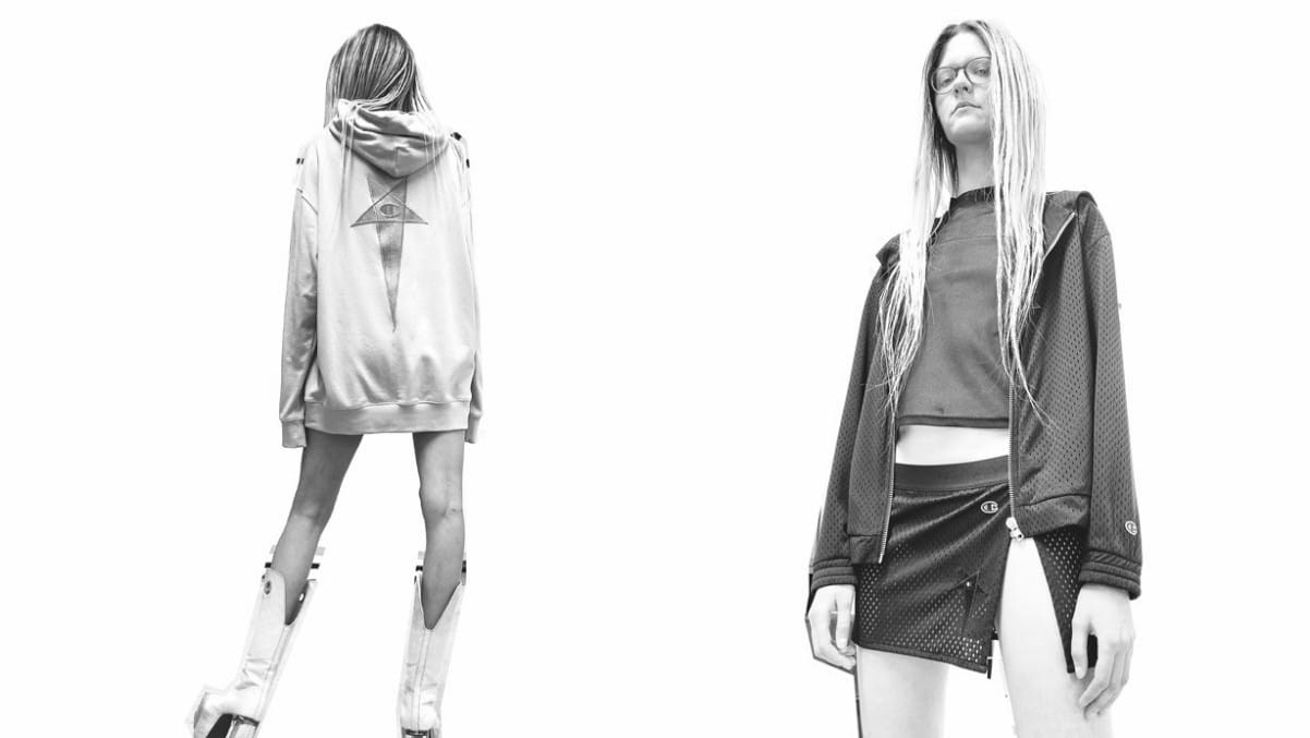 Rick Owens x Champion - TRENDS