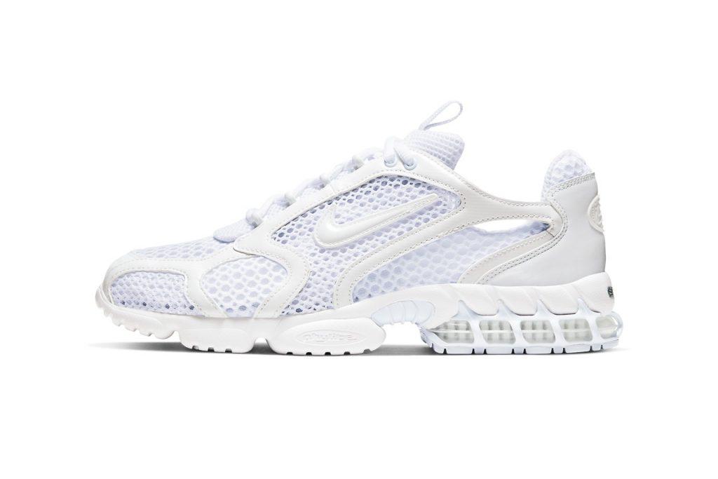 La Nike Air Zoom Spiridon Caged 2 se dévoile en Triple White